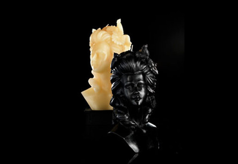Madame De Pompadour Bust Candle design by DL & Co.