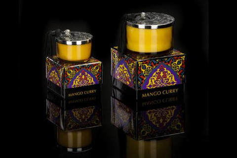 Mango Curry Candle design by DL & Co.