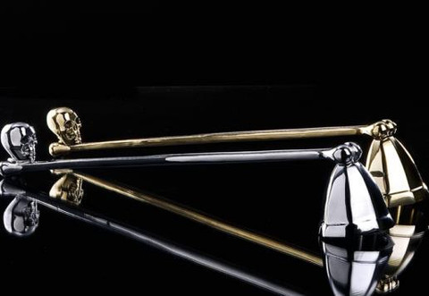 Silver Skull Snuffer design by DL & Co.