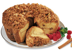 Cinnamon Walnut Coffee Cake - Get Well