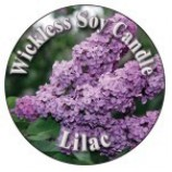 Wickless Candle Lilac