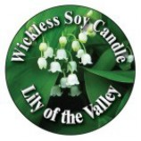 Wickless Candle Lily of the valley