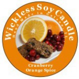 Wickless Candle Orange spice